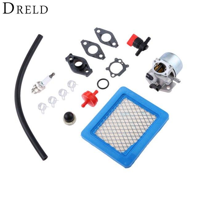 US $23 0 25% OFF|DRELD Carburetor Carb Repair Rebuild Tool Set For Briggs  Stratton 799866 790845 799871 796707 794304 4 Cycle Lawn Mower Engine-in