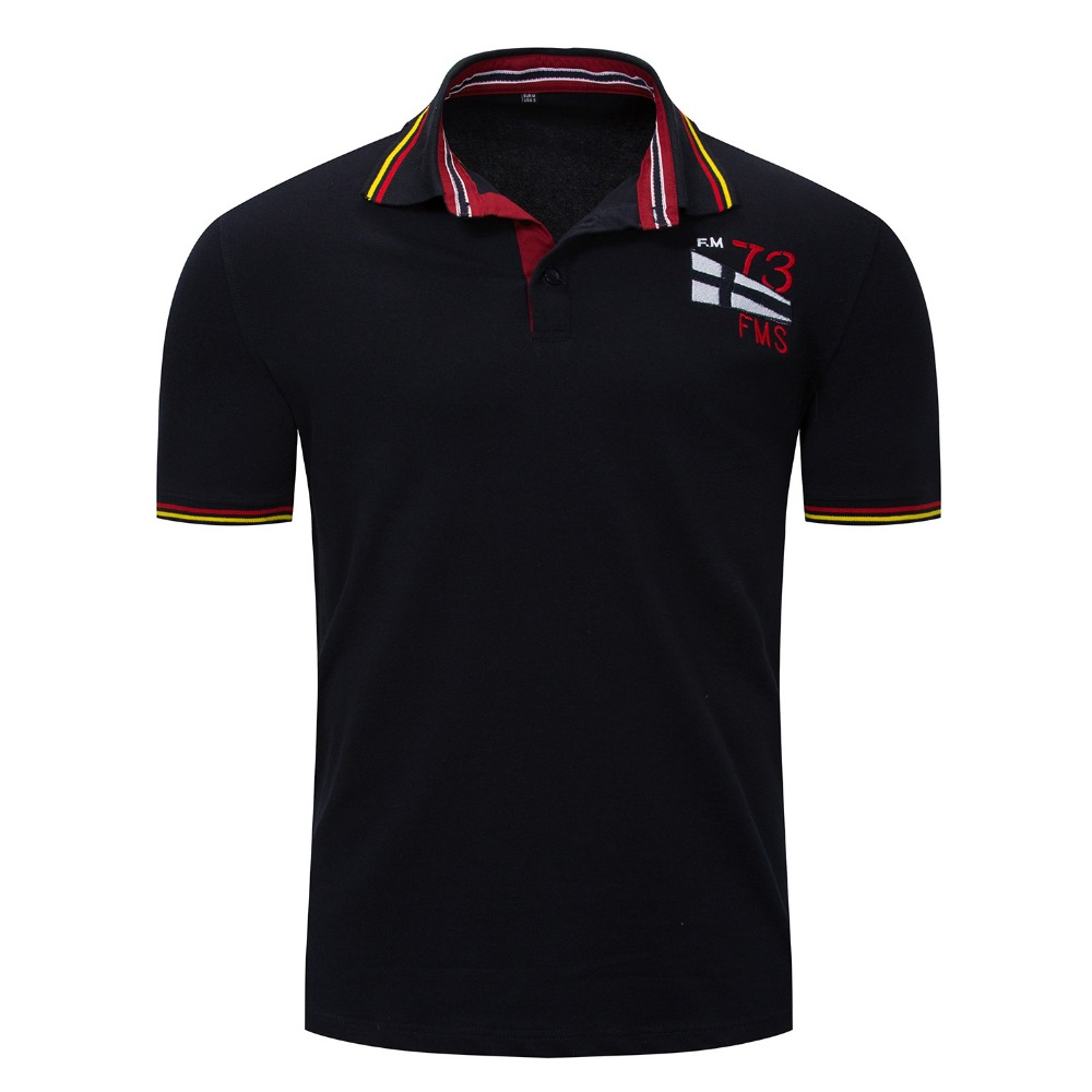 Polo   Shirt Men Solid Color 2018 Fashion Brand short-Sleeve Slim Fit Shirt Men Cotton   polo   Shirts Casual