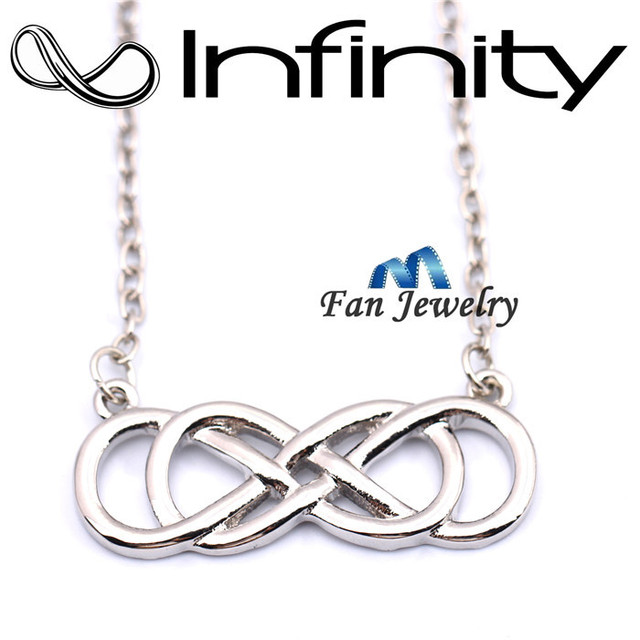 Infinity Double Necklace - Revenge Emily Thorne Vcgh8X