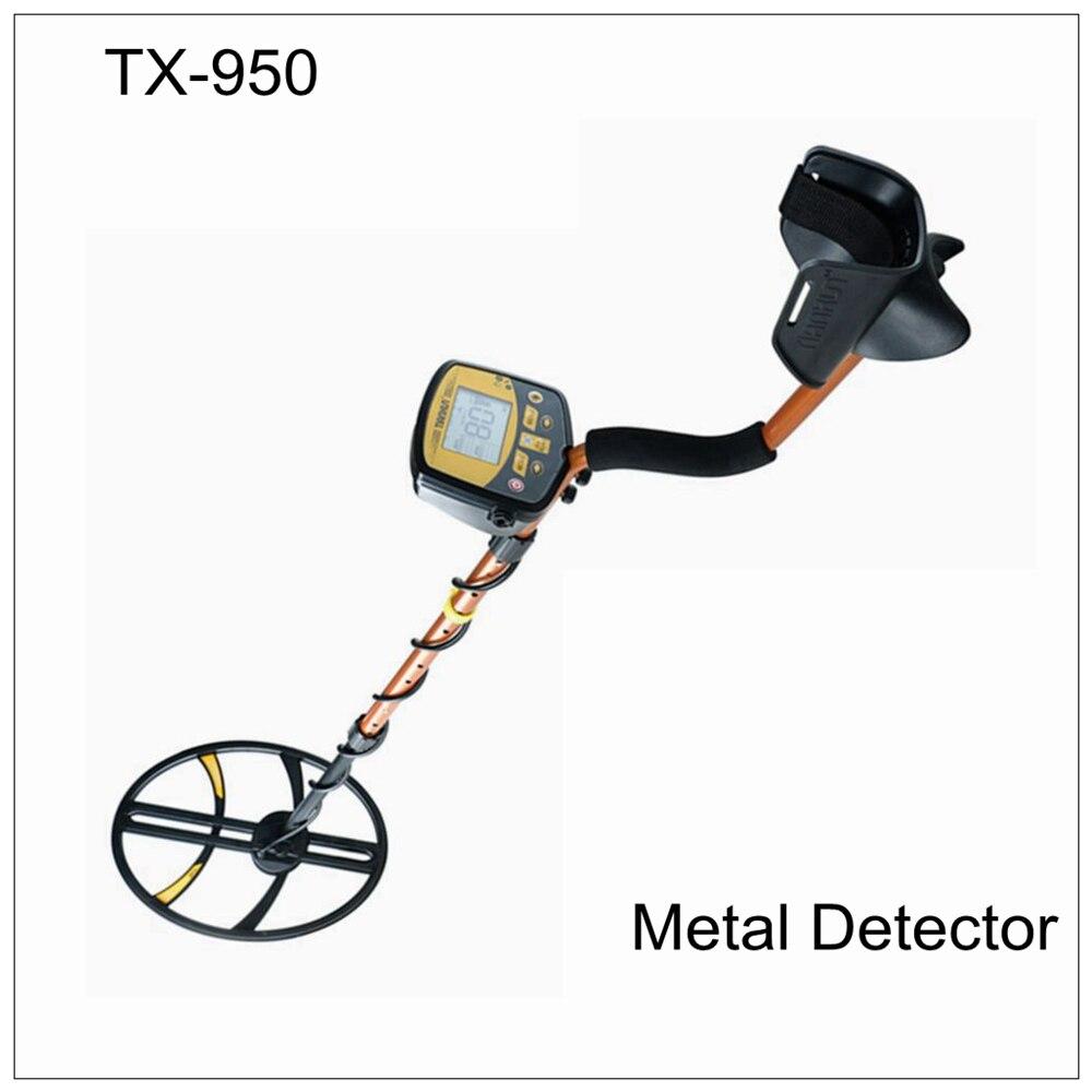 TIANXUN tx-950 TX 950 detector de metais subterrâneo ouro treasure hunter versão clara com bobina de 15 polegada edição profissional