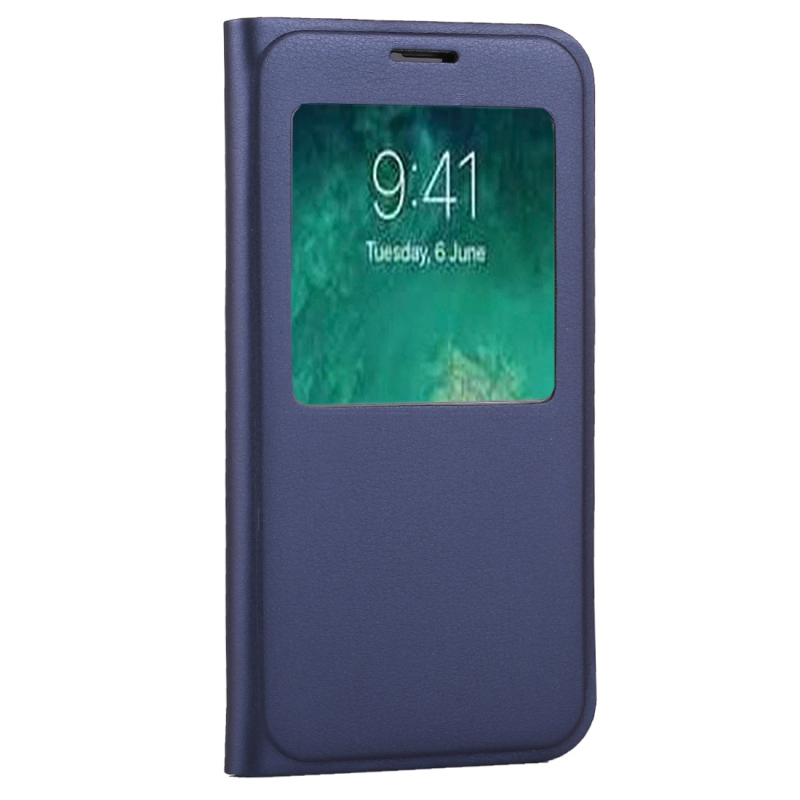 best website 20c97 32a5f US $2.98 15% OFF|Haweel For iPhone X leather case Litchi Texture Call  Display ID Horizontal Flip Leather Case Back Cover For Apple iPhone  Funda-in ...