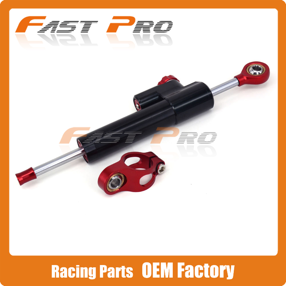 CNC Steering Damper Motorcycle Stabilizer Linear Reversed Safety Control For CB400 CBR600 CBR1000RR CB650F CBR900 CB600 cnc steering damper stabilizer linear reversed safety control & adapter bracket for honda cb400 cb 400 vtec 1999 2000 2001 2012