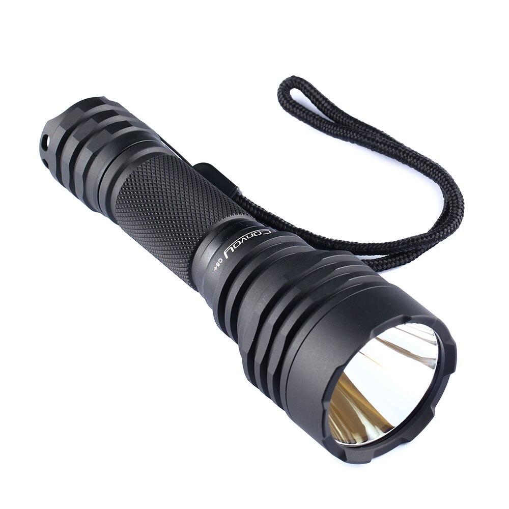 US $21.04 |Черный конвой C8 + с XPL HI LED, медная DTP плата и ar покрытием внутри, новая прошивка|Фонарики и осветительные приборы| |  - AliExpress