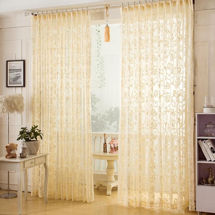 perforacin zhh nueva moda jacquard cortina de la ventana balcn screening estilo europeo casa separador