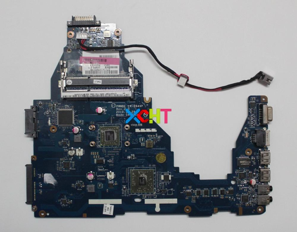for Toshiba Satellite C660 C660D K000124420 LA-6849P E-240 CPU Laptop Motherboard Mainboard Tested & Working Perfectfor Toshiba Satellite C660 C660D K000124420 LA-6849P E-240 CPU Laptop Motherboard Mainboard Tested & Working Perfect