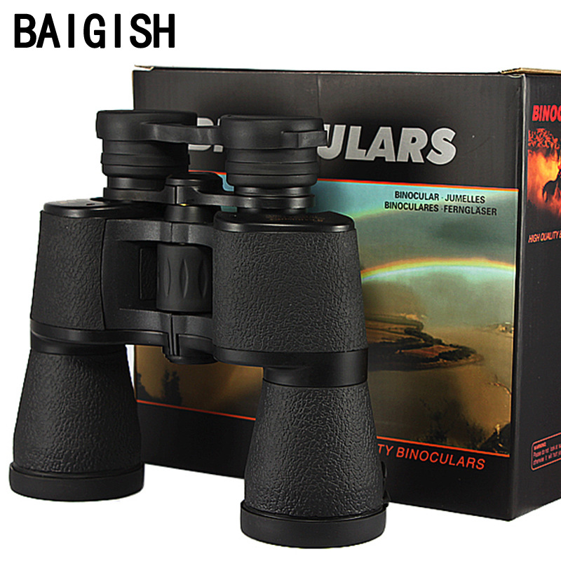 Powerful professional Binoculars baigish 20X50 military Russia telescope LLL night vision telescopio hd high power zoom hunting  powerful telescopio military hd 8x40 binoculars professional hunting telescope zoom high quality vision no infrared eyepiece new