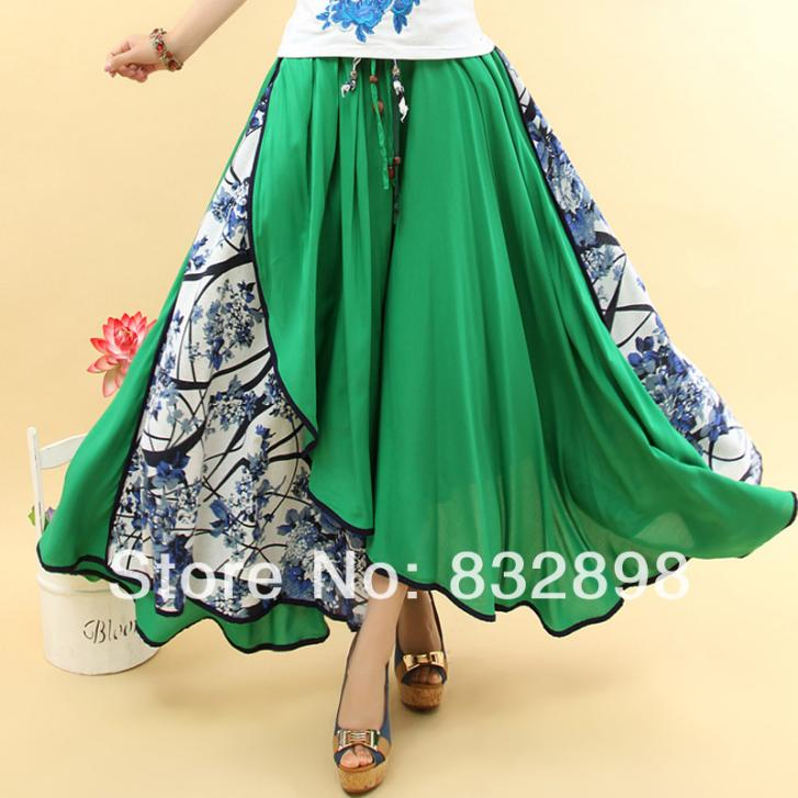 Long Flowing Skirts