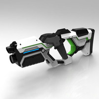 MAG P90 VR HandGun Shooting Game Gun Controller For HTC Vive Headset Virtual Reality VR Experience