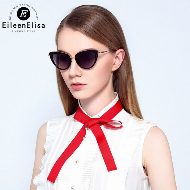 b99f617bde1d Luxury Famous Brand Sunglasses Women Sexy Cat Eye Sunglasses EE 2016 Top  Quality Sunglasses with Box