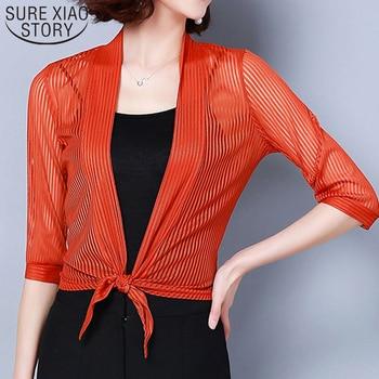 Solid Three Quarter Office Lady Open Stitch Coats Women Women Coats 2019 Fashion Ladies Coats Harajuku Short Coats  3723 50