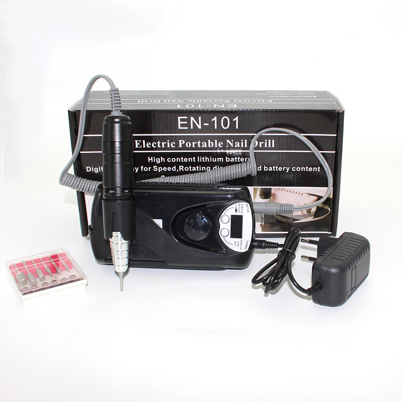Máquina recargable eléctrica de taladro para uñas 20W 30000 RPM - Arte de uñas - foto 5