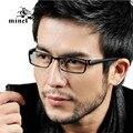 Ultra-ligero marco de anteojos marco miopía Hombres anteojos caja del marco negro