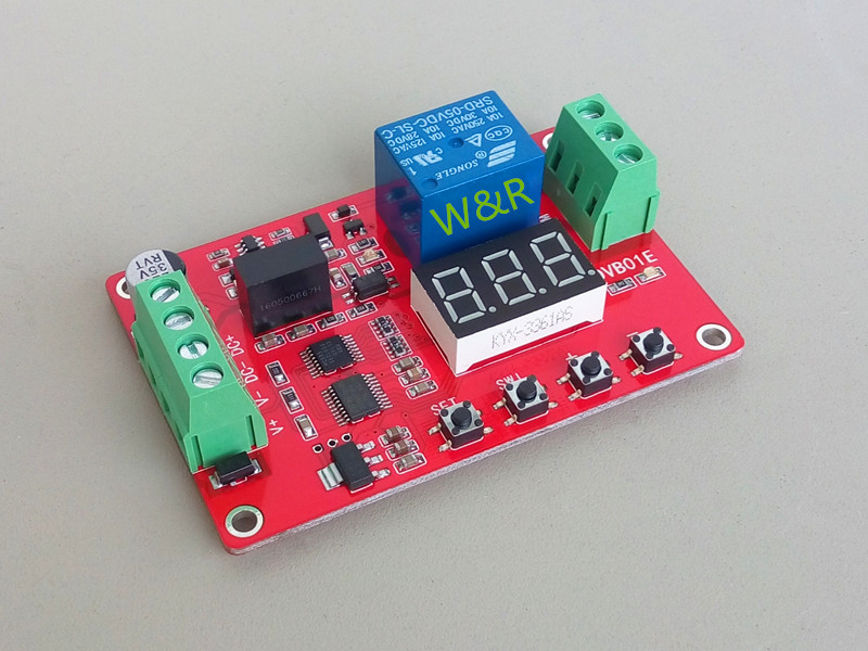 DVB01E/ Isolation / Digital Display Voltage Comparator //0.01V Accuracy / Charge Discharge / Overshoot / Undervoltage Protection rs232 to rs485 converter with optical isolation passive interface protection