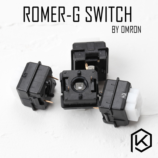 Logitech Romer G RGB switch ormon tactile switch low profile