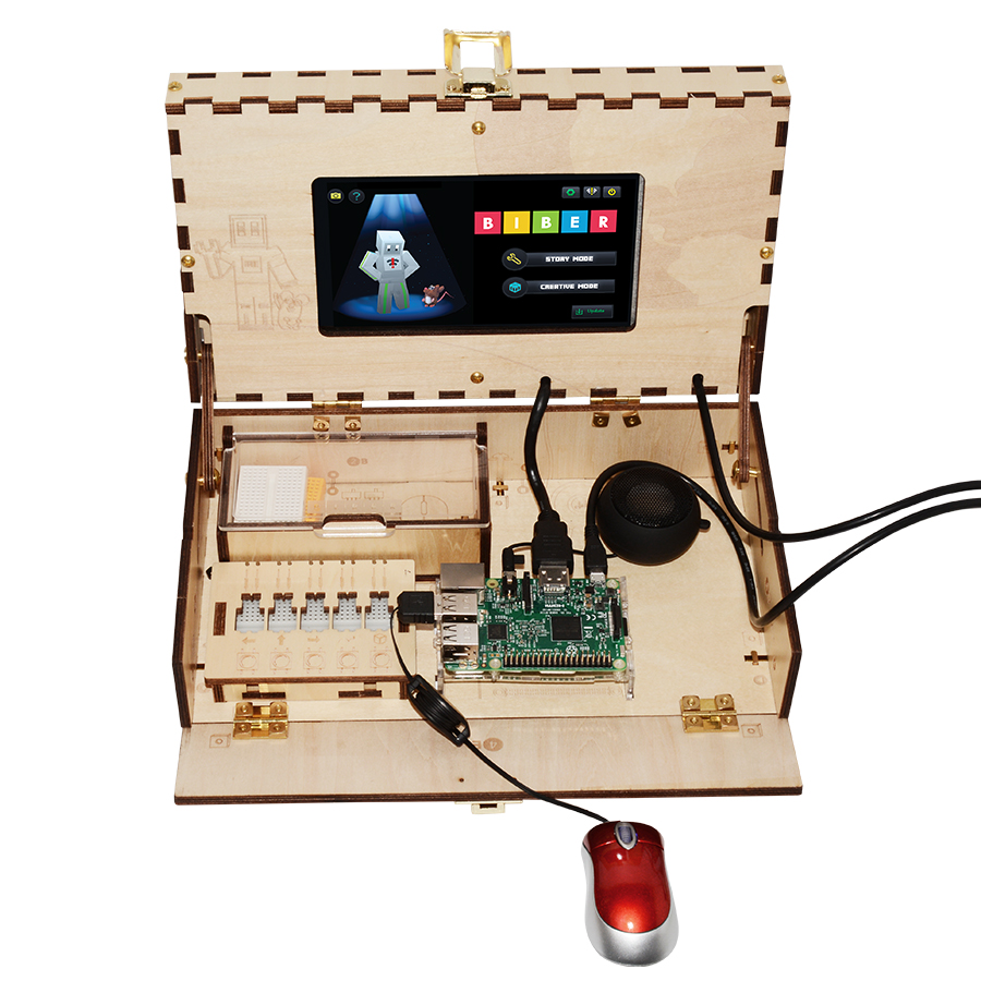 Computer Kit For Kids STEM And Coding Training Toy Gaming Based On Raspberry Pi Demo Board