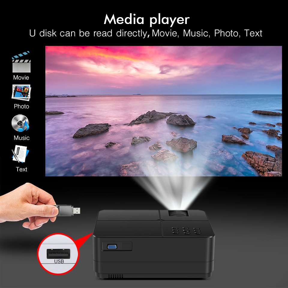 BYINTEK SKY K7 1280x720 LED Mini Micro Micro Portable Video Projector with HDMI USB For Game Movie 1080P Cinema Home Theater (10)