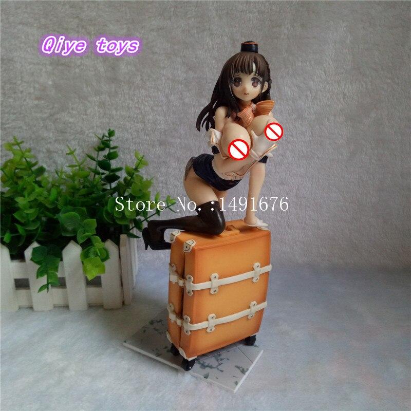 22 cm Sexy fille poupée tronc cabine préposé figurine Collection modèle poupée jouet