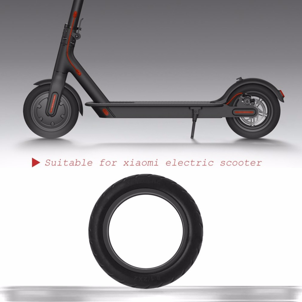 Solid Vacuum Non-Pneumatic Tires 8 1/2X2 Micropores Vacuum Wheel Suitable For Xiaomi Mijia M365 Electric Skateboard Scooter