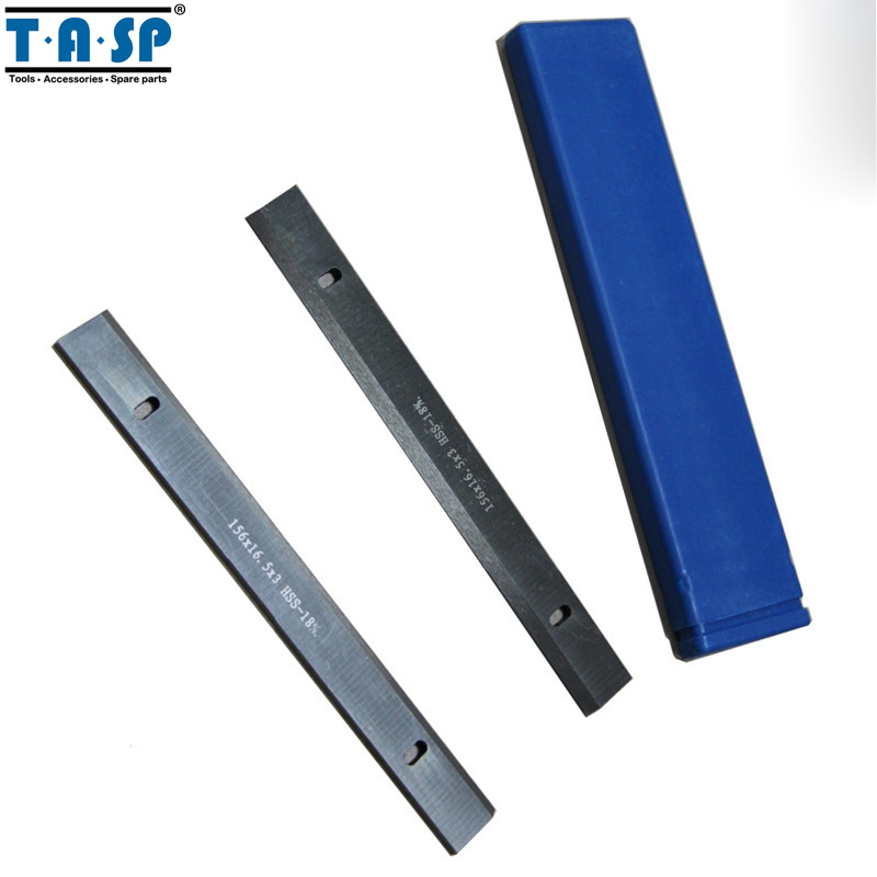 TASP 156x16.3x3mm HSS Wood Thickness Planer Blades Woodworking Power Tools Accessories