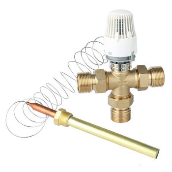 Energy saving control Floor heating Thermostatic Radiator valve Three way valve DN25