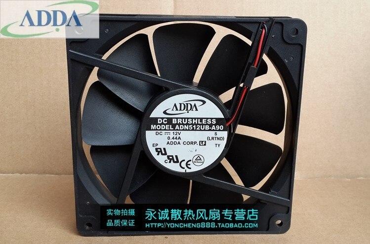 135x135x25mm Cooling Fan FOR ADDA ADN512UB-A90 13525 12V 0.44A  13.5cm Dual Ball Bearing Chassis Fan