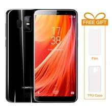 """HOMTOM S7 5.5 """"18:9 Lunette-moins Plein Écran 4G LTE Mobile Téléphone 3 GB RAM 32 GB ROM Android 7.0 MTK6737 Quad Core 8.0 + 2 MP Smartphone"""