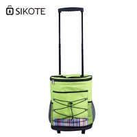 SIKOTE Trolley Carriage Folding Shopping Cart Tugs Shopping Bags Convenience Folding Tugboat Home For Food High