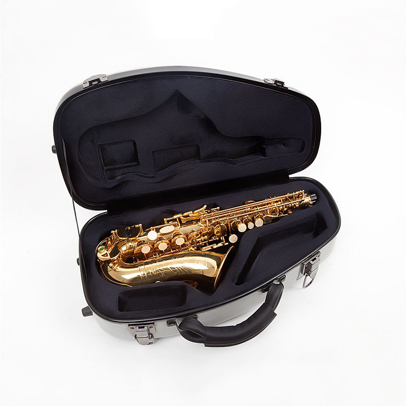 bB Soprano Saxophone case sax shoulders strap bag portable backpack wind instrument bag case drop B tune Sax bag soft case cover new luxury professional portable durable alto saxophone bag b sax gig case waterproof backpack soft padded strap free shipping