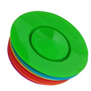 Image 4 - 6 conjuntos de plástico placa fiação balanceamento adereços desempenho ferramentas crianças praticando equilíbrio habilidades brinquedo casa jardim ao ar livre