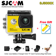 Original SJCAM SJ5000X Elite 4K 24fps &2K 30fps Gyro Waterproof Sport Camera 1080P Full HD Diving SJ 5000x wifi MINI Action CaM