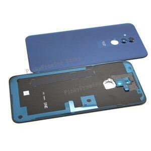 "Image 5 - Original For 6.3"" Huawei Mate 20 Lite Glass Back Battery Cover Case Rear+Glass Lens For Mate 20 Lite Rear Door"