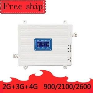 Image 2 - GSM 2G WCDMA 3G LTE 4G 900/2100/2600MHZ טלפון סלולרי מגבר אות 2G 3G 4G LTE 2600 מהדר מאיץ טלפון נייד