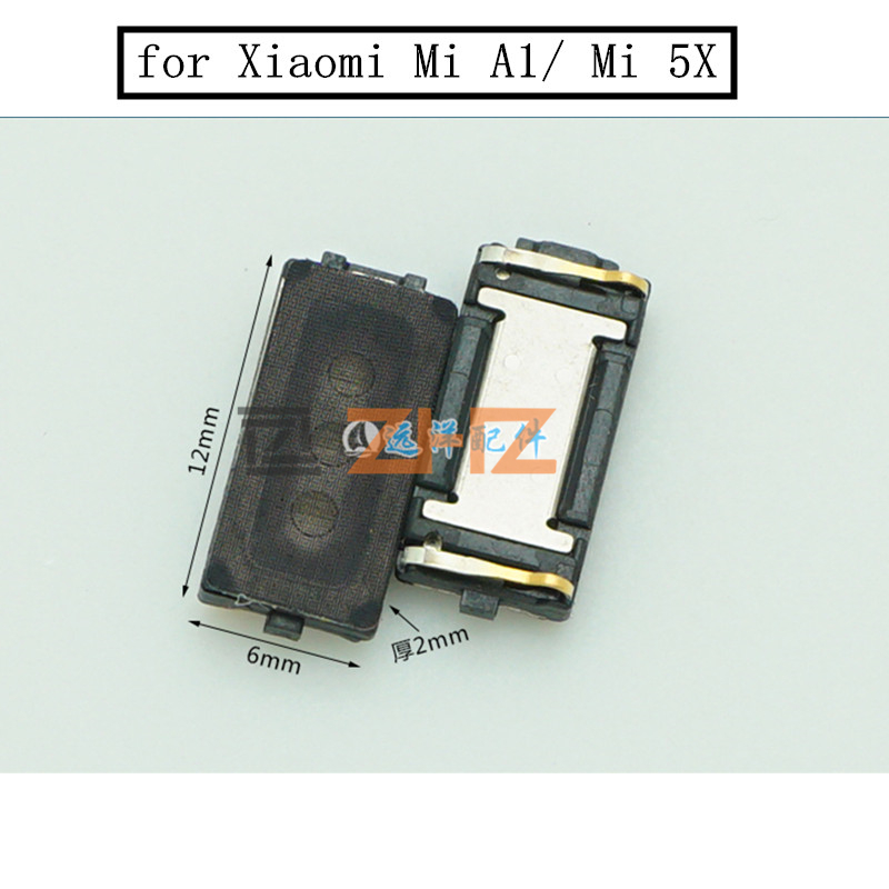 2pcs For Xiaomi Mi A1 Mi 5X Earpiece Receiver Ear Speaker Cell Phone Replacement Repair Parts Tested Before Shipment Mi A1 Mi5X