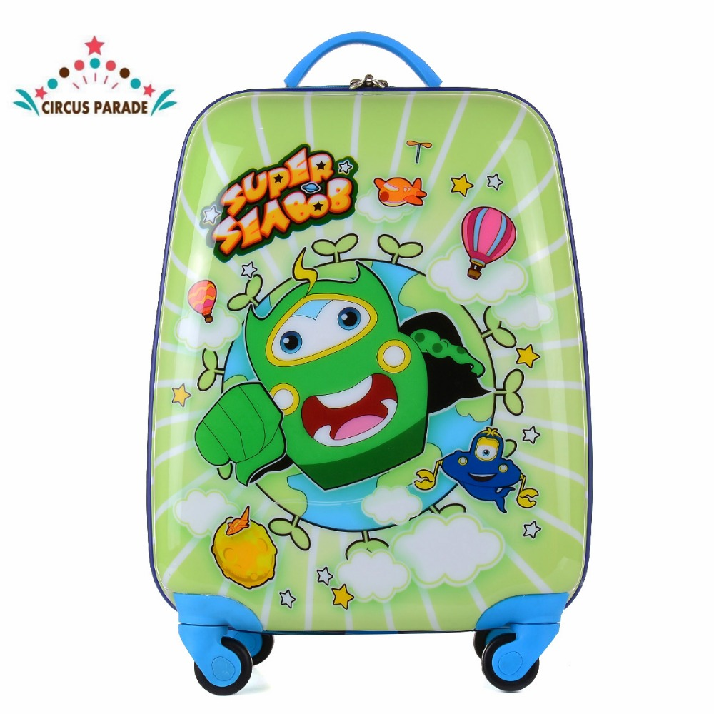 16 inch cartoon cute tourist cart box with wheels of boys and girls keter 220927 tool box cart 22 25 inch