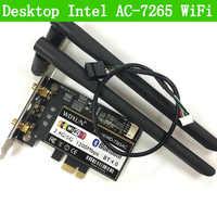 Desktop AC-7265 802.11AC Dual Band 867 Mbps Bluetooth 4,0 WiFiIntel 7265NGW WIFI KARTE Linux/Win7/Win8/Win10 /AP