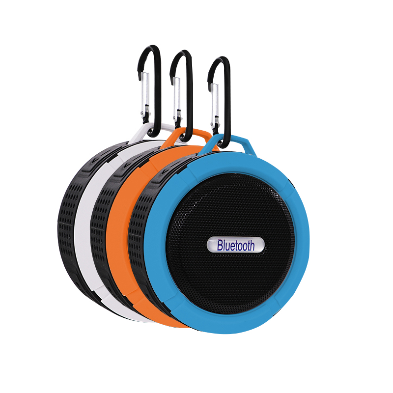 Portable Mini Bluetooth Speaker Waterproof Outdoor sport small party Wireless Car with Calls Handsfree and Suction Cup