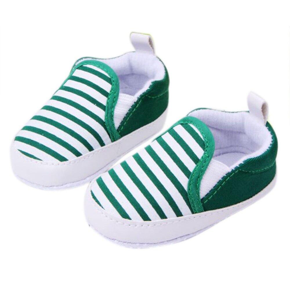 Kids Toddler Baby Unisex Boys Girls Striped Anti-Slip Sneakers Soft Bottom Shoes Drop Shipping