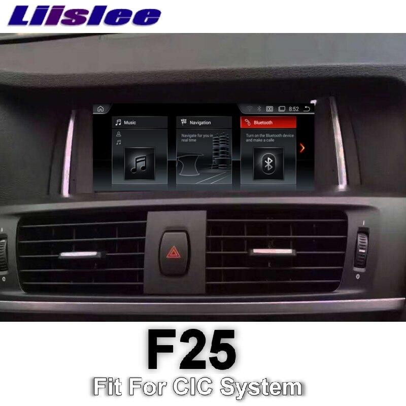 Pour BMW X3 F25 2011 ~ 2013 LiisLee voiture multimédia GPS Audio Hi-Fi Radio stéréo Style Original pour CIC Navigation NAVI
