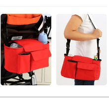 baby stroller bag for baby mother bags red orange green baby stroller bag nappy diaper bag carriage multifunctional the new