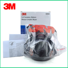 3M 6800 Painting Spraying Respirator Gas Mask Industry Chemcial Full Face Gas Mask Medium