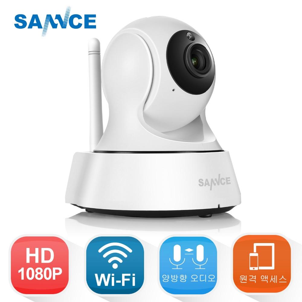 SANNCE 1080P HD Wireless IP Camera 2.0 MP Home Security Camera WiFi CCTV Surveillance Camera Baby Monitor 1920 * 1080
