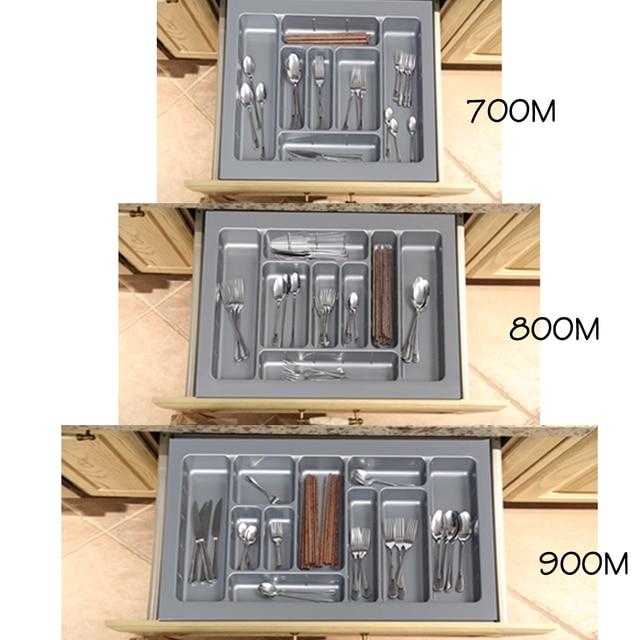 700 800 900m Kitchen Cabinet Cutlery Organiser Cutlery Tray