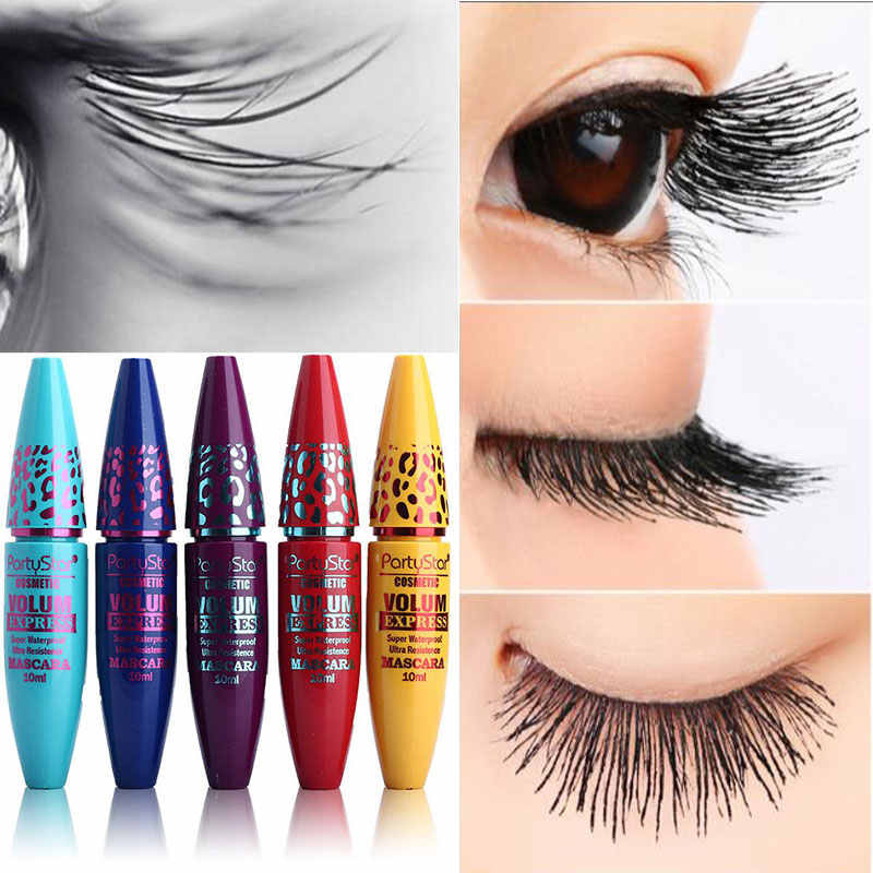 1415614a17b Brand Eye Mascara Colossal Volume Lengthening Eyelashes 3D Fiber Lashes  Thick Curling Makeup Set Waterproof Cosmetics