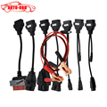 A quality full set tcs CDP car cables TCS 8 car cables with diagnostic Tool Interface cable free shipping