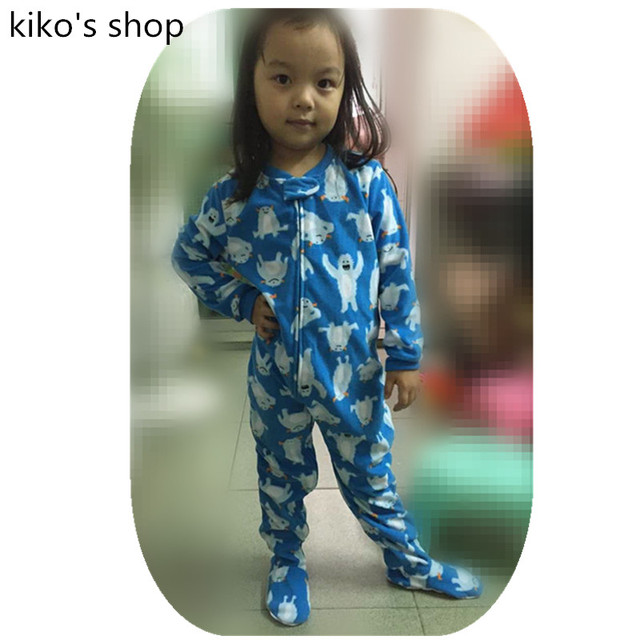2-5A bebê Meninos ou meninas pijamas quentes das Crianças de Primavera e outono e pijamas de inverno simples zipper umbigo Proteção frio jumpsui