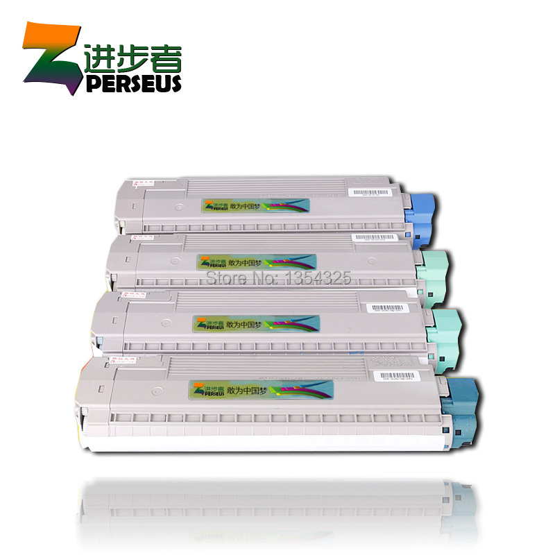 4 Pack HIGH QUALITY TONER CARTRIDGE OKI MC860 MC861 C860 C861 COLOR PRINTER FULL COMPATIBLE 44059212 44059211 44059210 44059209