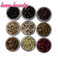 Micro Screws Rings Beads 4 5X3 0mm Micro Links Beads 9 Kinds Of Color Can Choose