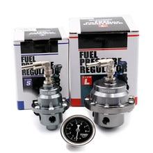 Regulador de pressão de combustível de corrida ajustável original com calibre e instruções