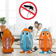 Electric Anti Mosquito Repeller Fly Insect Killer Penguin Mosquito Control Home Office Trap Lamp Pest Repeller Reject 250V EU(China)