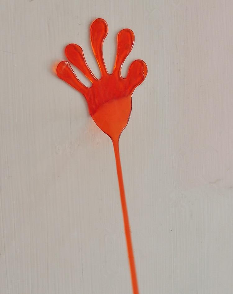 1 шт. забавная эластичный липкий Игрушки-приколы пощечину руки ладони игрушки дети малыш пользу подарок